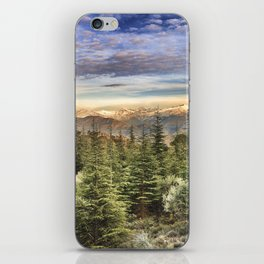 """""""Wildderness"""". Adventure at the mountains... iPhone Skin"""