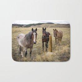 Colorado Horses Bath Mat