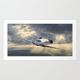 40 years flying Art Print