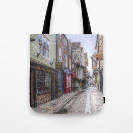The Shambles York Art Tote Bag