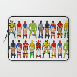 Superhero Butts Laptop Sleeve