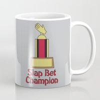 how i met your mother Mugs featuring Slap Bet Champion from How I Met Your Mother by Dr. Spaceman40