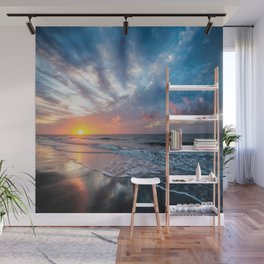 Daybreak at Hilton Head - Sunrise Along Beach at Hilton Head Island in South Carolina Wall Mural