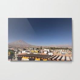 Arequipa Metal Print
