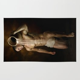 male nude art 2 Rug