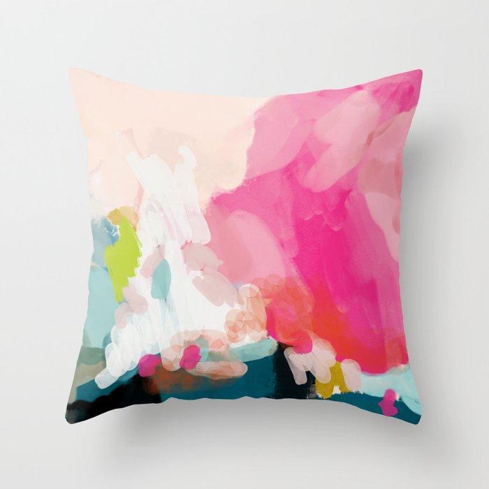 pink sky Deko-Kissen