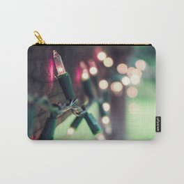 Pink Lights Carry-All Pouch