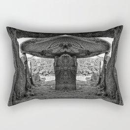 Alien Dolmen Rectangular Pillow