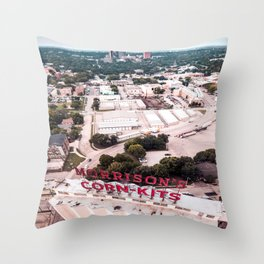 Denton, Texas Throw Pillow