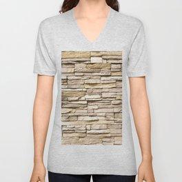 Wall Unisex V-Neck