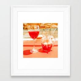 Sangri la Framed Art Print