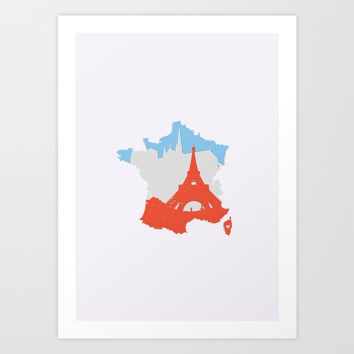 Paris - France Art Print