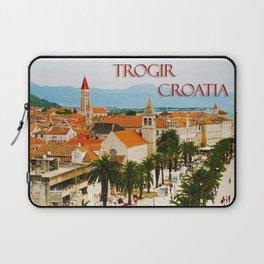 Cityscape of Trogir Croatia Laptop Sleeve
