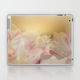 Window Curtains - Smell the Flowers Laptop & iPad Skin