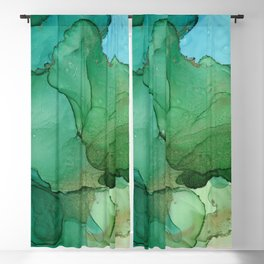 Tropical island Blackout Curtain