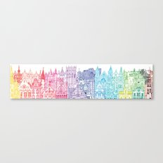 Belgium Towers  Canvas Print