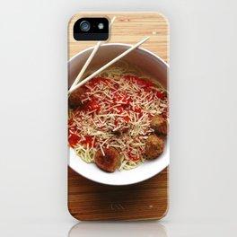 Sketti iPhone Case