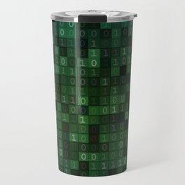 Tell Me In Binary Travel Mug