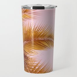 Rose Gold Tropics Travel Mug