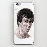 rocky iPhone & iPod Skins featuring Rocky by ChrisHdzArt