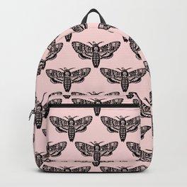 Death's Head Moth - Blush Backpack