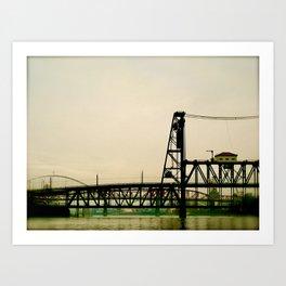 Portland Bridges by Seasons Kaz Sparks Art Print