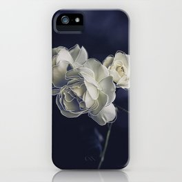 Floral lines. iPhone Case
