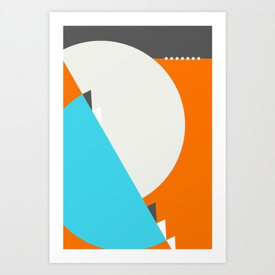 Spot Slice 04 Art Print