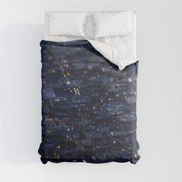abstract 3D depth of field bokeh artwork hexagon  Comforters