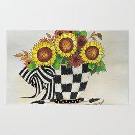 Sunflower Tea Rug