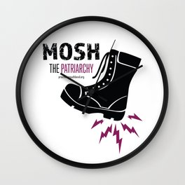 MOSH the Patriarchy Wall Clock