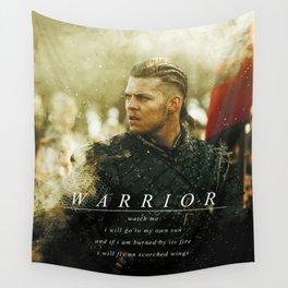 Warrior Watch Me - Ivar The Boneless Wall Tapestry