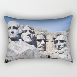 Mt Rushmore Rectangular Pillow