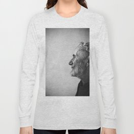 Old man portrait Long Sleeve T-shirt