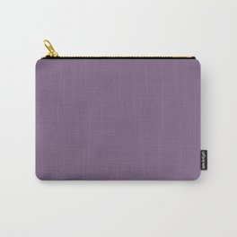 Rustic Wisteria ~ Dusky Violet Carry-All Pouch