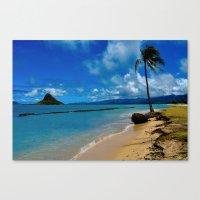 hawaiian Canvas Prints featuring Hawaiian Dreams by Upperleft Studios