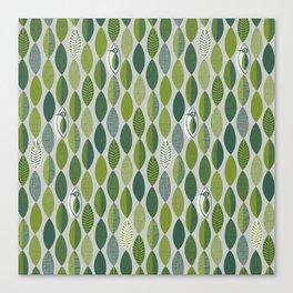 Woodland Woodpecker Canvas Print