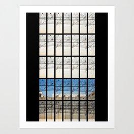 The wall of shame Art Print