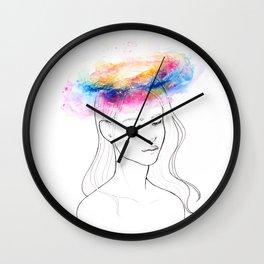 Galaxy Mind Wall Clock