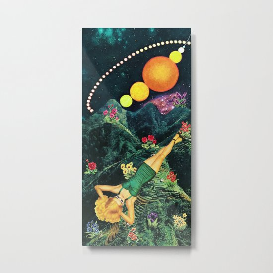 Midnight Sunbath Metal Print