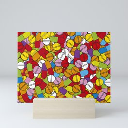 Lots of Pills Mini Art Print