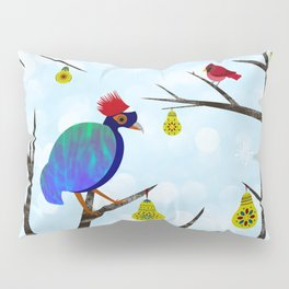 A Partridge in a Pear Tree Pillow Sham