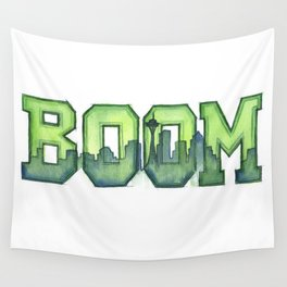 Legion of Boom Seattle 12th Man Art Wall Tapestry