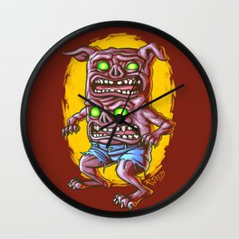 I Don't Care How Hungry You Are, I Gotta Piss! Wall Clock