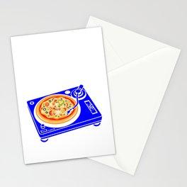Pizza Scratch Stationery Cards