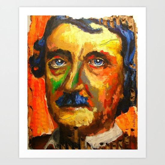 Le Papillon sans Résidu d' Edgar Allan Poe Art Print
