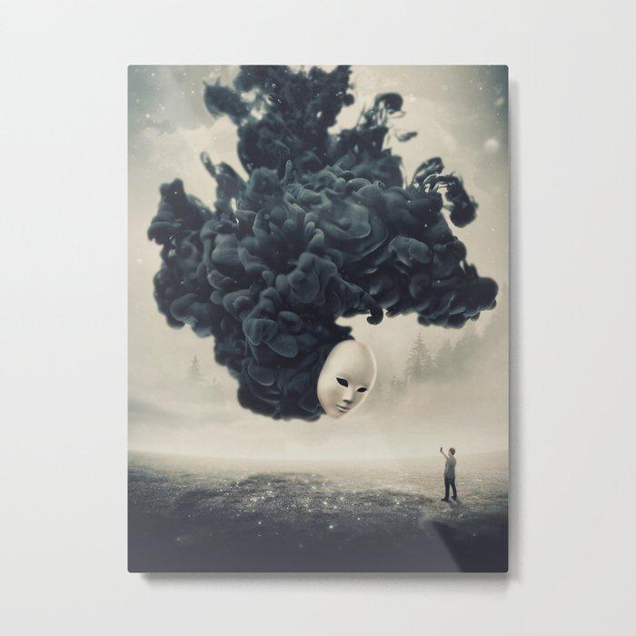 The Selfie Dark Surrealism Metal Print