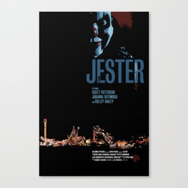 Jester Movie Poster Canvas Print