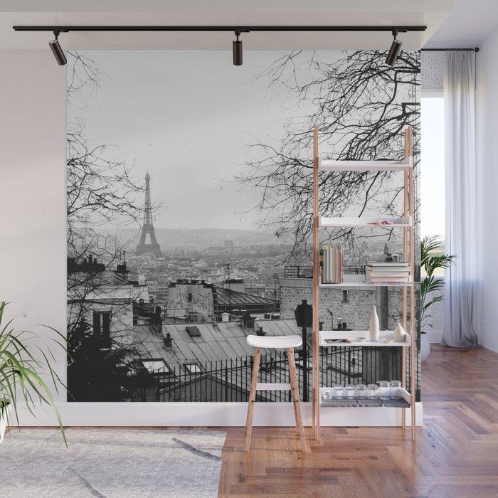 Paris Wall Mural by lauracpcs Society6