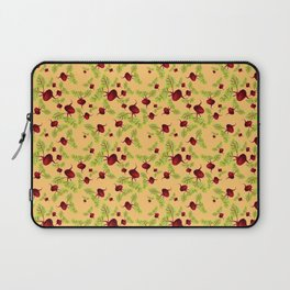 Orange Beauty and the Beets Laptop Sleeve
